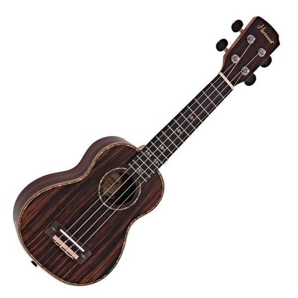 Hartwood Sonata Soprano Ukulele, Ebony