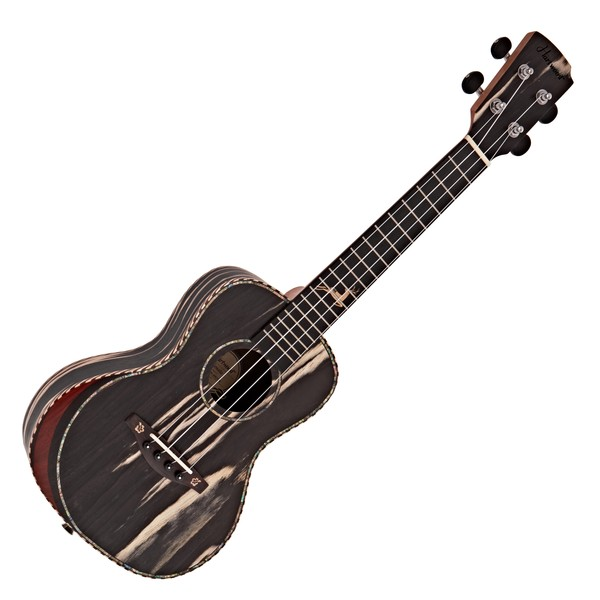 Hartwood Sonata Armrest Concert Ukulele, Technical Black