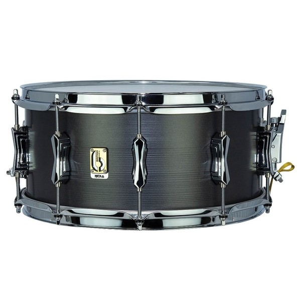 "British Drum Co. 'Talisman' 14"" x 6.5"" Nicko Mcbrain Snare Drum"