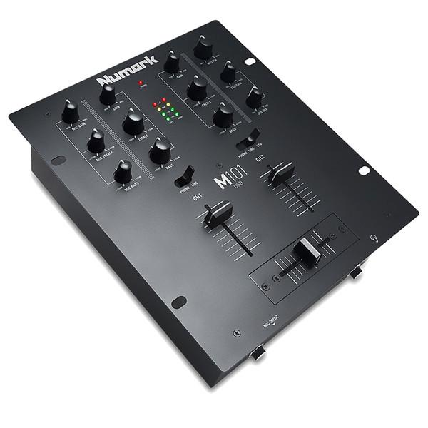Numark M101USB 2 Channel DJ Mixer With USB Connectivity