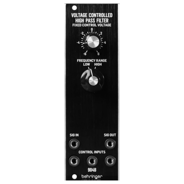 Behringer System 55 904B Voltage Controlled High Pass Filter - Front