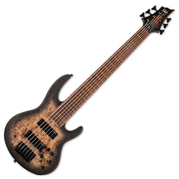 ESP LTD D-6, Black Natural Burst Satin - front