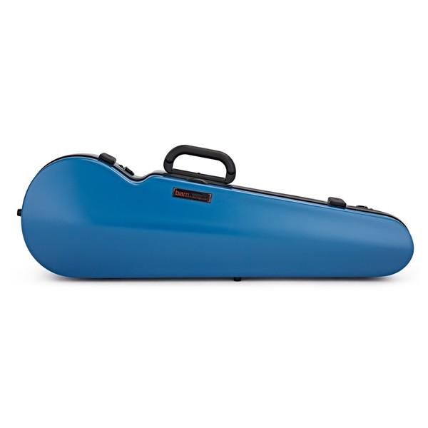 BAM 2002XL Hightech Shaped Violin Case, Azure Blue