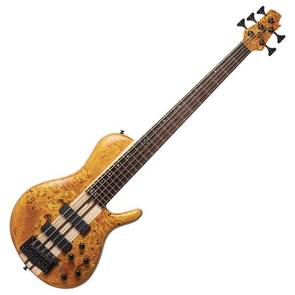 Cort Artisan A5 Plus SC Bass, Amber Natural Open Pore - front