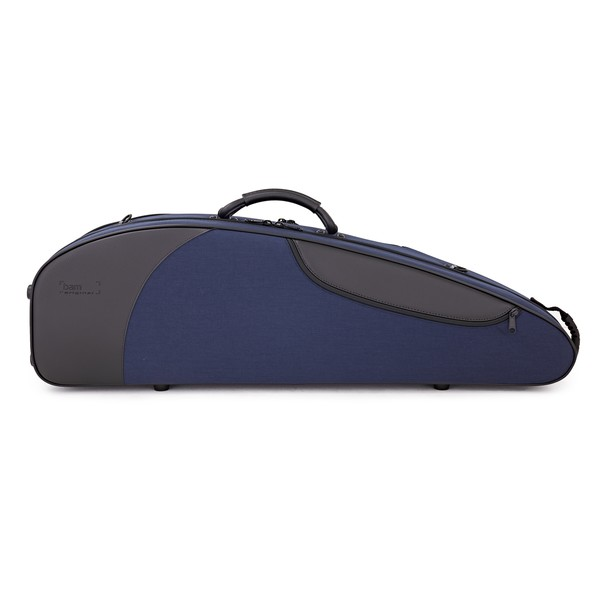 BAM 5003SB Classic III Shaped Violin Case, Navy Blue