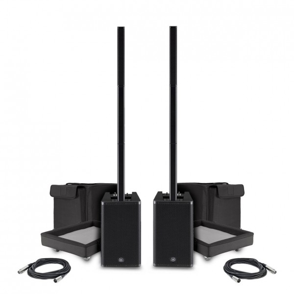 Yamaha Stagepas 1K Column PA System, Pair with Cables