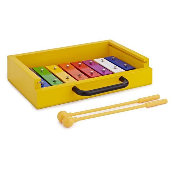 Mini Compact Glockenspiel by Gear4music, Rainbow Keys