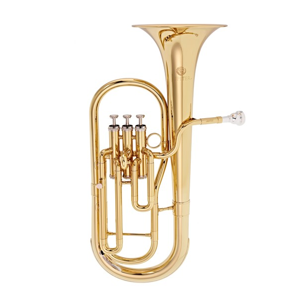 Jupiter JAH700 Tenor Horn, Clear Lacquer