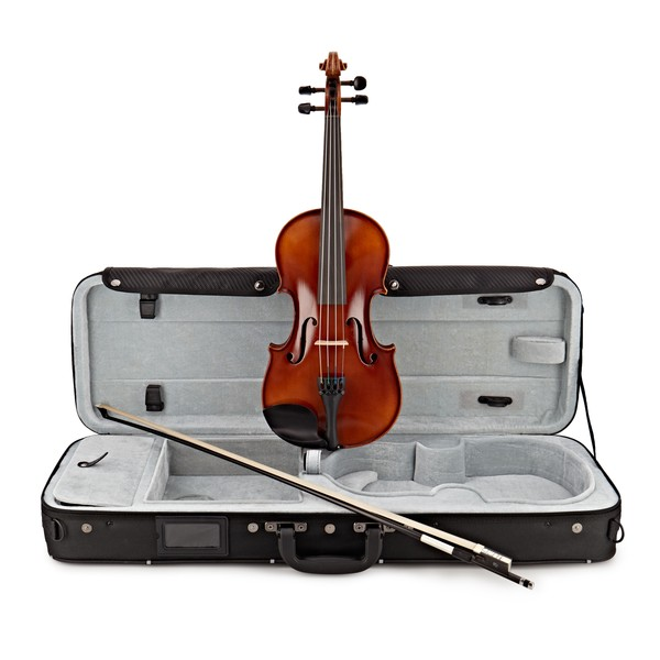 Gewa Allegro VL1 4/4 Violin Outfit, Carbon Bow and Oblong Case