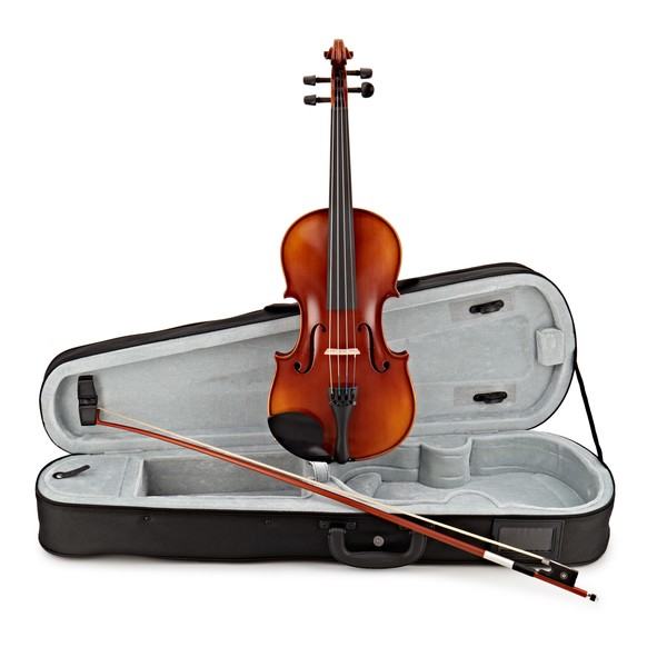 Gewa Ideale VL2 4/4 Violin Outfit, Bulletwood Bow and Shaped Case