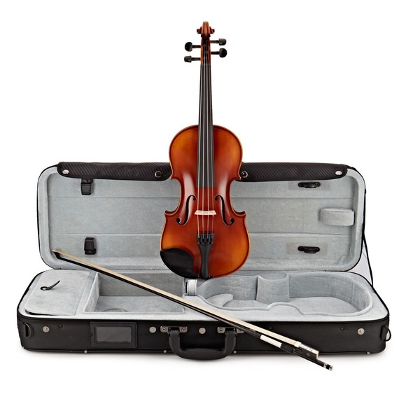 Gewa Ideale VL2 4/4 Violin Outfit, Carbon Bow and Oblong Case