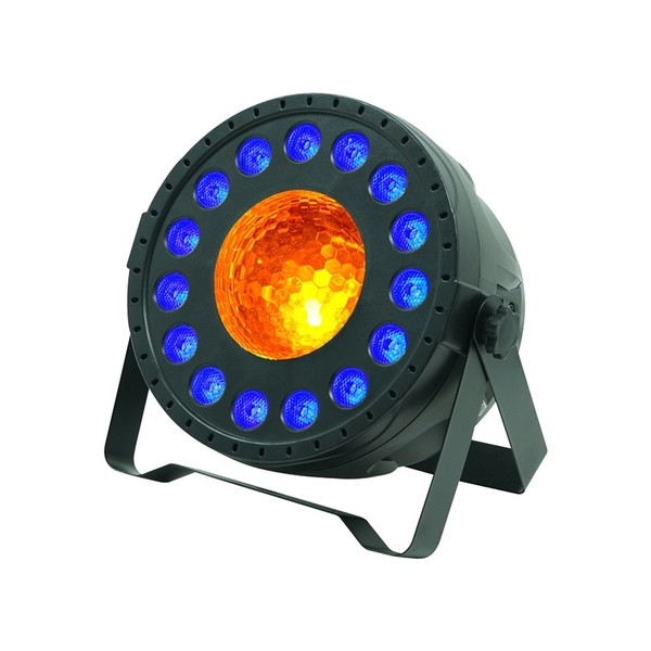 Equinox MoonPar Multicoloured LED Effect, Angled Lit