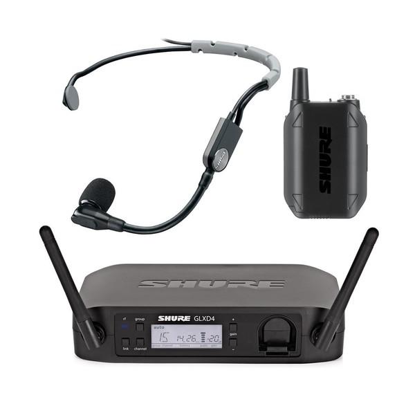 Shure GLXD14UK/SM35 SM35 Digital Wireless Headset Microphone System