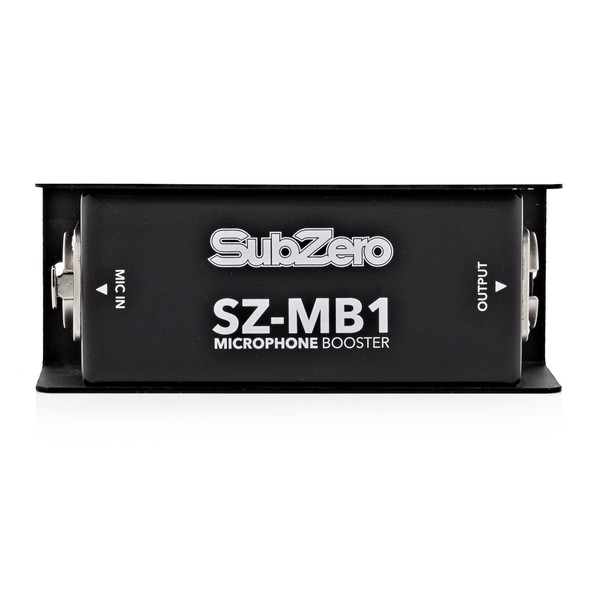 SubZero Single Channel Microphone Booster