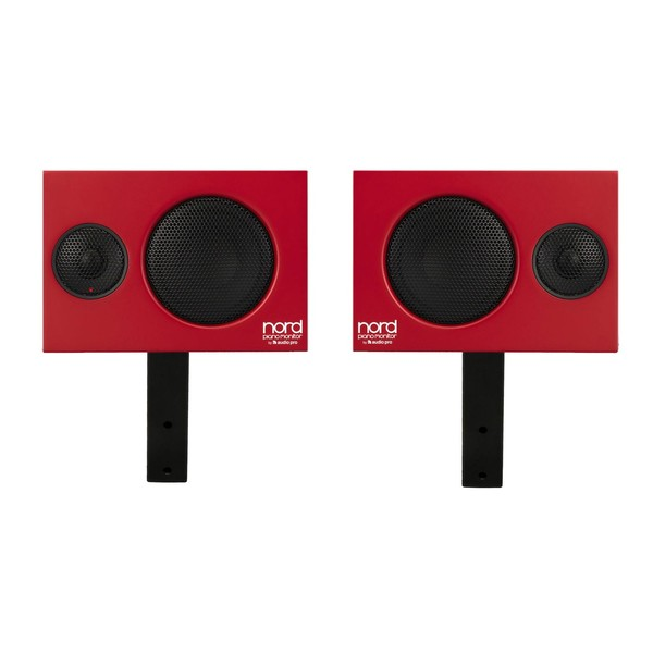 Nord Piano Monitors V2 with Brackets - 8