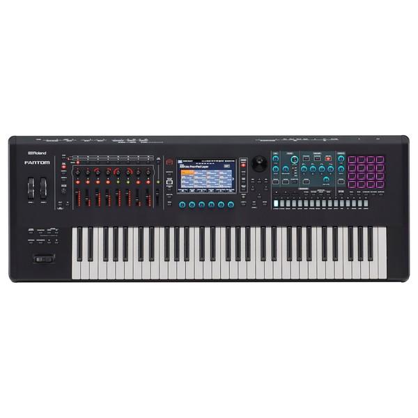 Roland Fantom 6 61 Key Synthesizer Workstation - Top