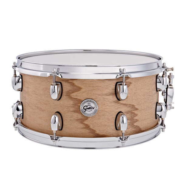 Gretsch 14 x 6.5 Silver Series Snare Drum, Natural Satin