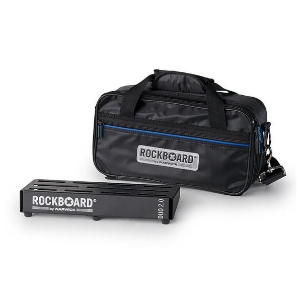 RockBoard B 2.0 DUO B Pedalboard & Bag - front