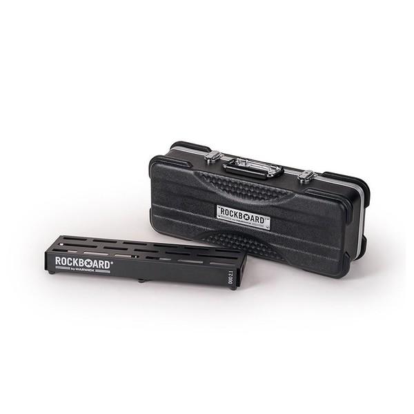 RockBoard B 2.1 DUO A Pedalboard & Case - front