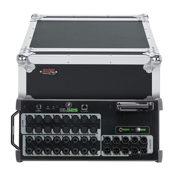 Mackie DL32S 32-Channel Wireless Digital Mixer with Gator Flight Case