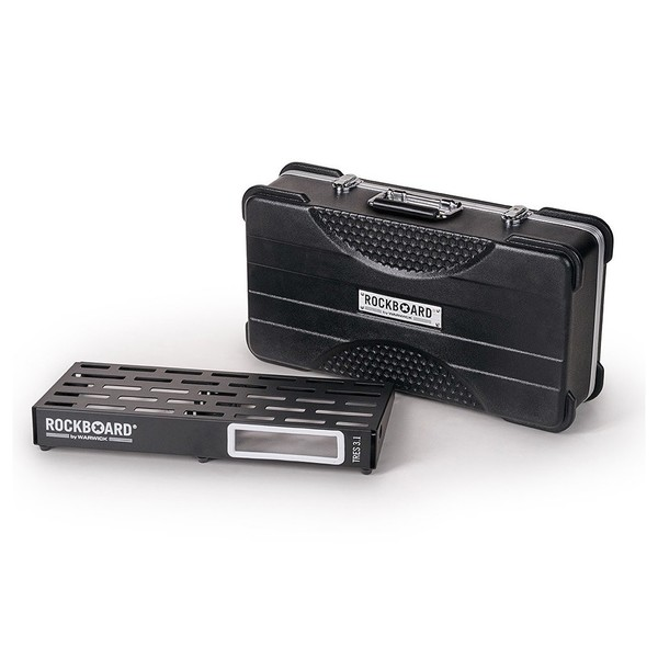 RockBoard TRES 3.1 Pedalboard & ABS Case - front