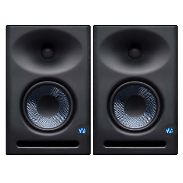PreSonus Eris E7 XT Studio Monitors, Pair - Full Bundle