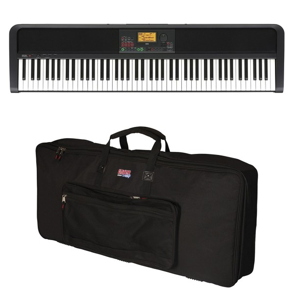 Korg XE20 Ensemble Digital Piano, Gator Case Bundle