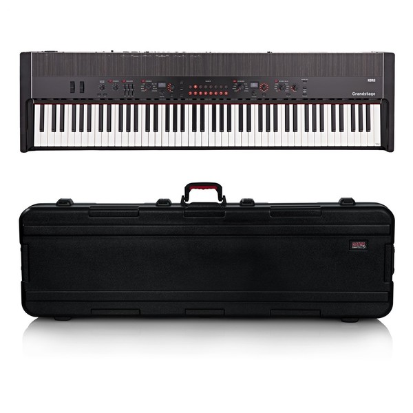 Korg Grandstage 88 Stage Piano, Gator Case Bundle