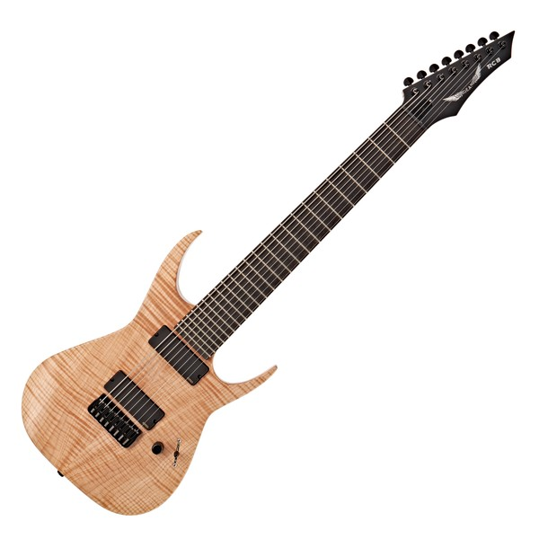 Dean USA Rusty Cooley 8-String Flame, Natural Oil