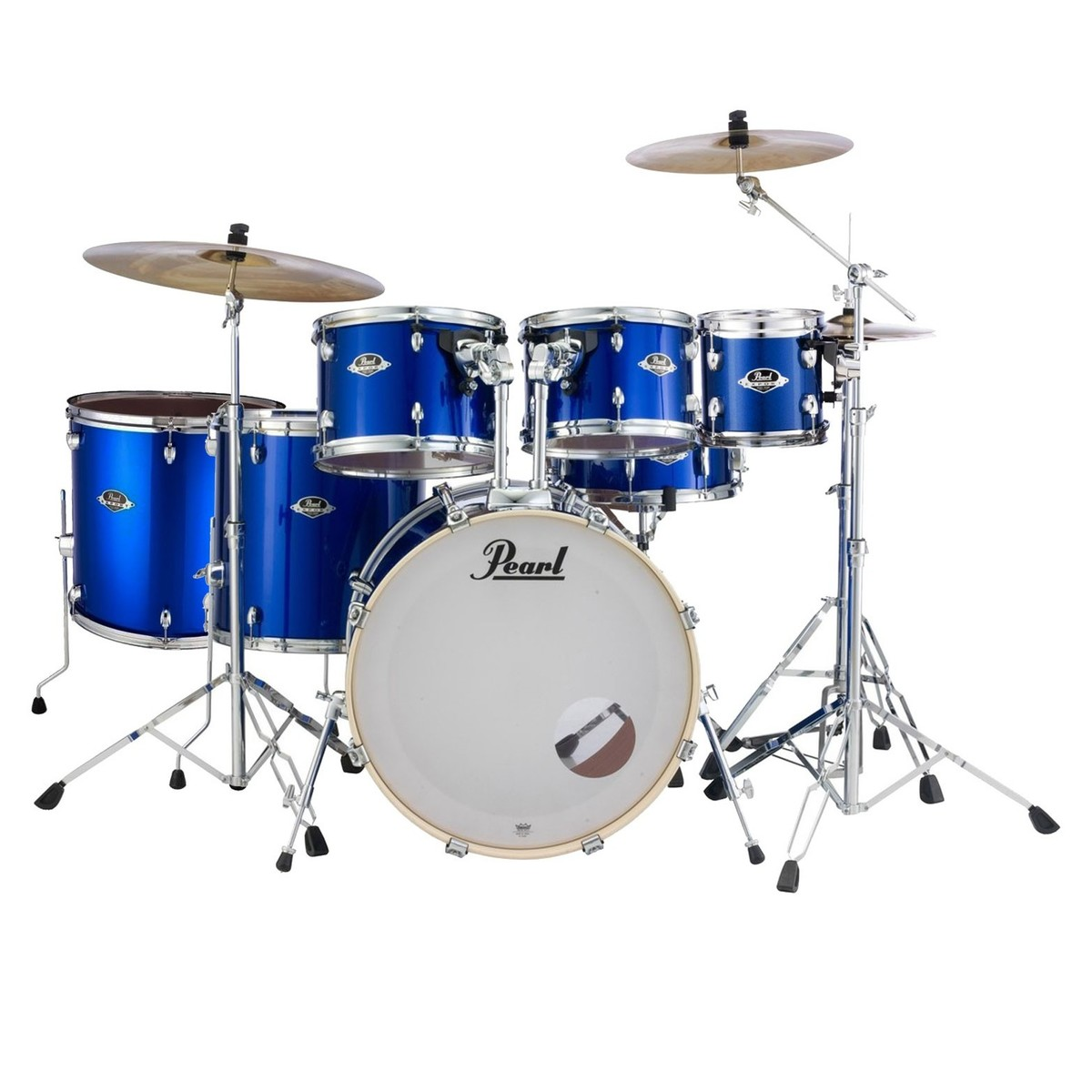 Click to view product details and reviews for Pearl Export Exx 22 7pc Drum Kit High Voltage Blue.
