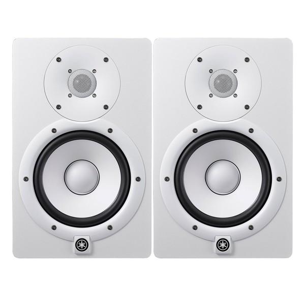 Yamaha HS7W Studio Monitors, White (Pair)