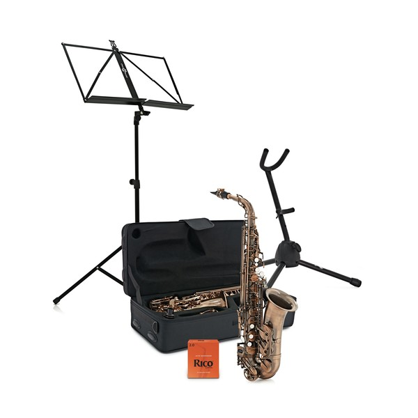 Alto Saxophone Complete Package, Vintage