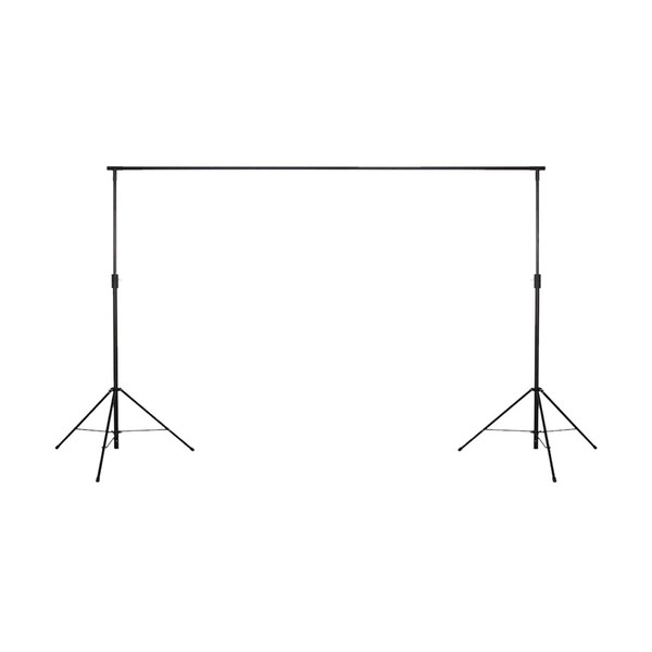 LEDJ 3m x 2m Starcloth Stand and Bag Set, Stand Front