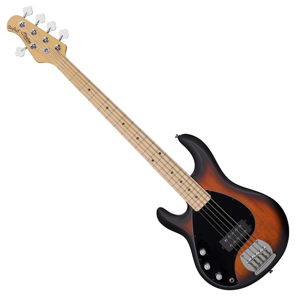 Sterling SUB Ray5 Bass H Left Handed MN, Vintage Sunburst - front