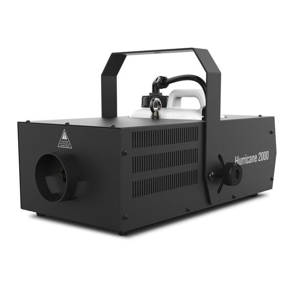Chauvet DJ Hurricane 2000 High-Volume Fog Machine, Front Angled Left