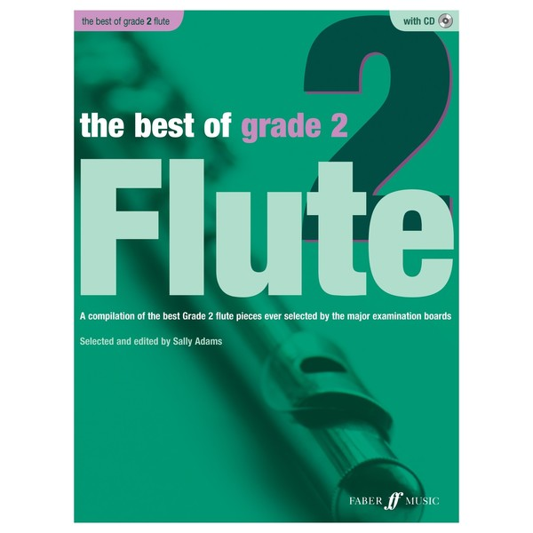 The Best of Grade 2 Flute, Book and CD