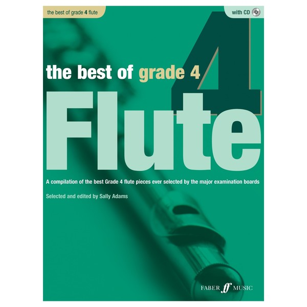 The Best of Grade 4 Flute, Book and CD