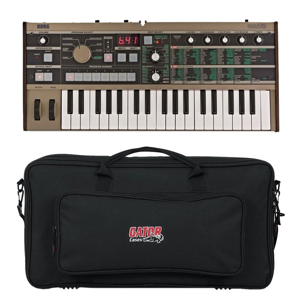 Korg microKORG Synthesizer with Gator Gig Bag