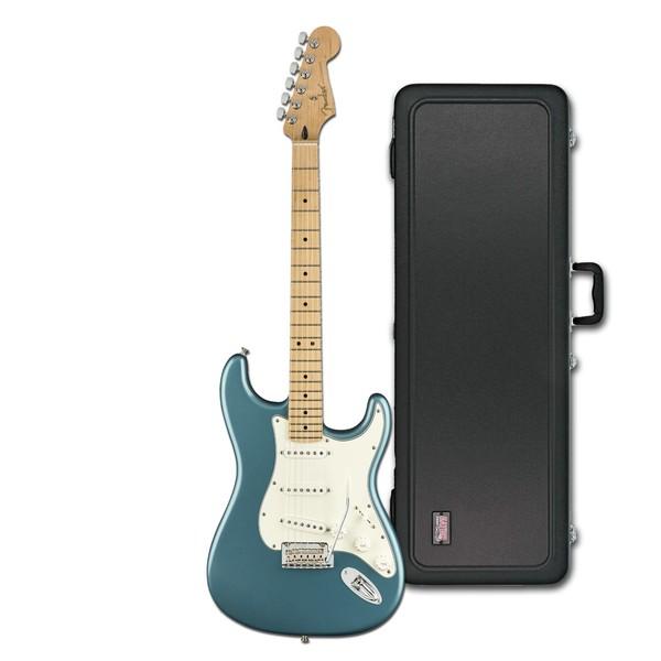 Fender Player Stratocaster MN, Tidepool w/ Gator Deluxe Hardcase - main