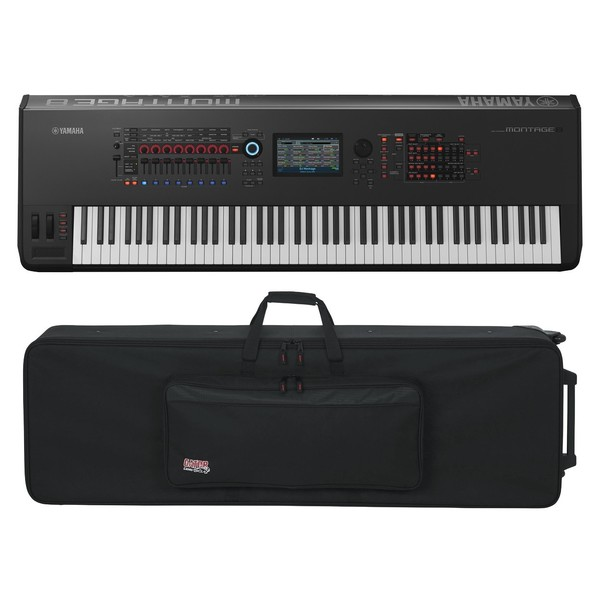 Yamaha MONTAGE 8 with Gator GK-88 Case - Full Bundle