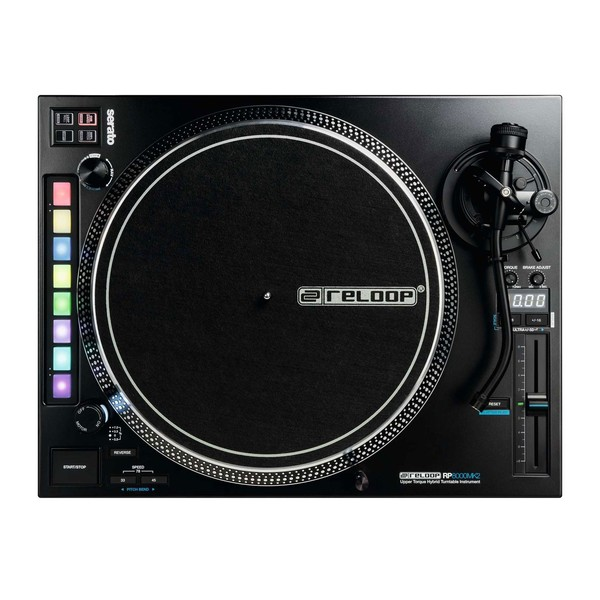 Reloop RP-8000 MK2 Direct Drive Turntable with Serato Control