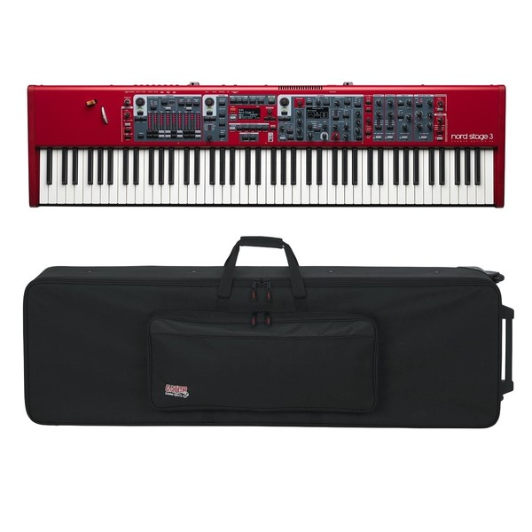 Nord Stage 3 88 Digital Piano with Gator GK-88 Case - Full Bundle