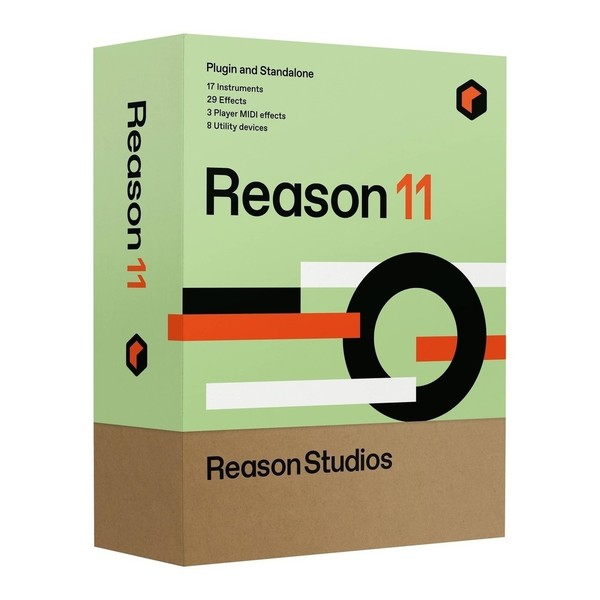 Reason 11, 10-User Network Multilicense, Education - Boxed