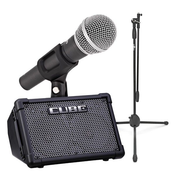 Roland Cube Street EX with SubZero Dynamic Microphone Pack