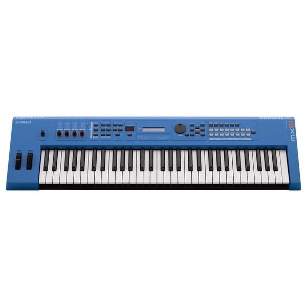 Yamaha MX61 II Music Production Synthesizer, Blue