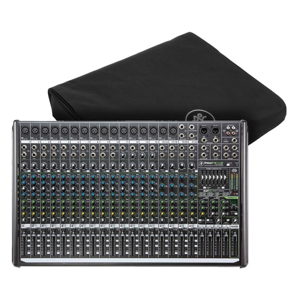 Mackie ProFX22v2 Mixer with Dust Cover