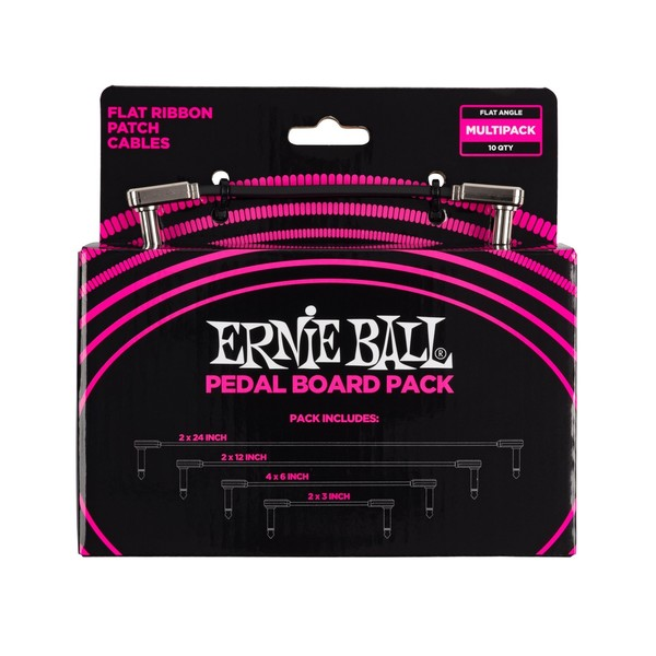 Ernie Ball Flat Ribbon Pedalboard Multi Pack - front