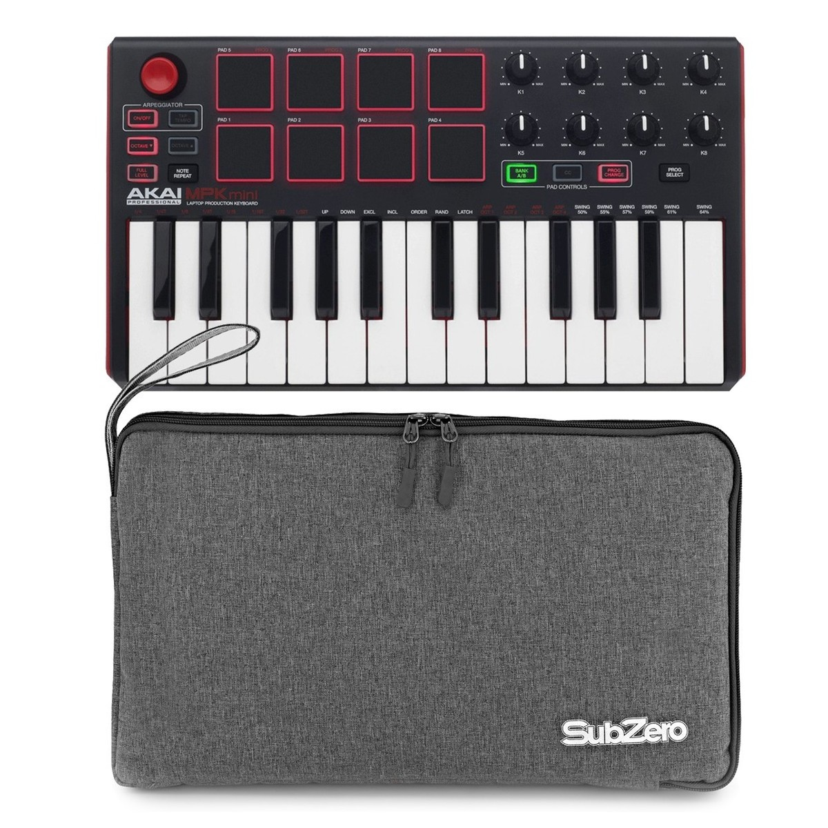 Click to view product details and reviews for Akai Professional Mpk Mini Mk2 With Bag.