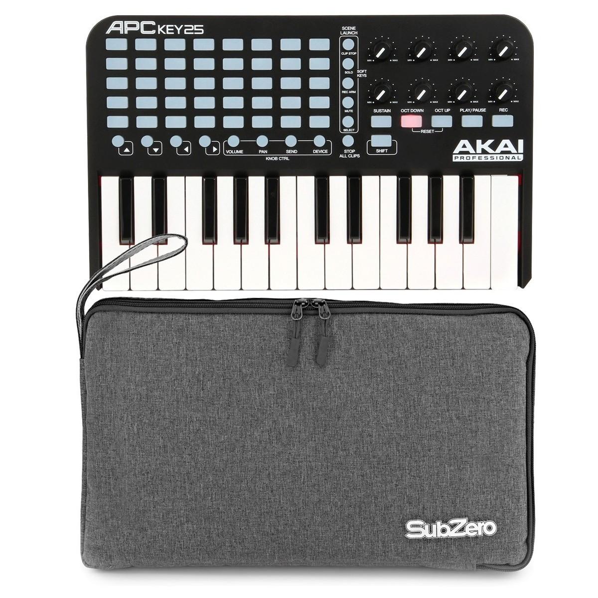 Akai Apc Key 25 Usb Controller With Bag