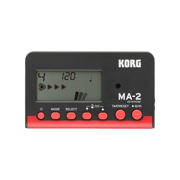 Korg MA-2 Digital Metronome Black/Red